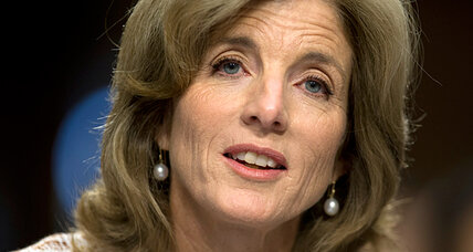 For Caroline Kennedy, polite questions at Senate hearing – and some gushing