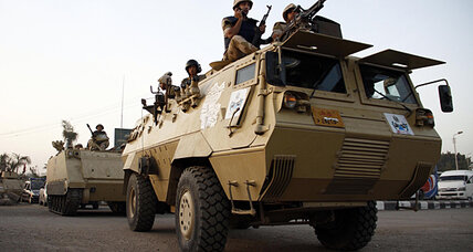 Raid: Egyptian troops turn to Kerdasa against Islamist stronghold