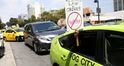 California will regulate ride-share companies