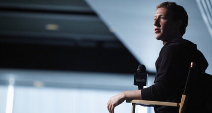 Why is Mark Zuckerberg in D.C.? It's not what you might think.