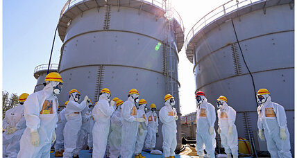 5.3 earthquake hits Fukushima, near nuclear plant