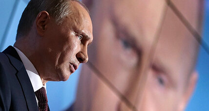 Russia's alpha dog: vintage Putin holds forth in chat with academics