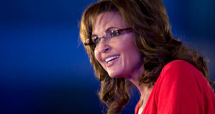Sarah Palin tells GOP to 'woman up' on shutdown threats. What's her point? (+video)
