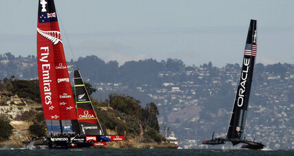 America's Cup continues, Oracle wins twice to stay alive