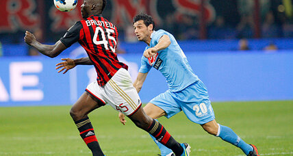 Mario Balotelli: AC Milan's striker given three-match ban