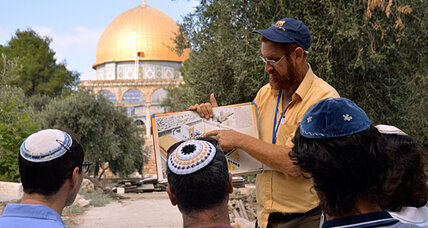 Why it matters that Jews are standing on the Temple Mount