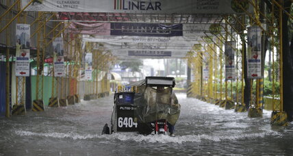 Monsoon rains hits Philippines triggering landslides