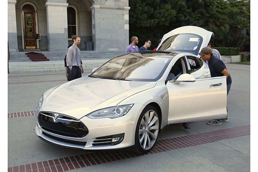 Tesla Model S: (almost) no maintenance required - CSMonitor com