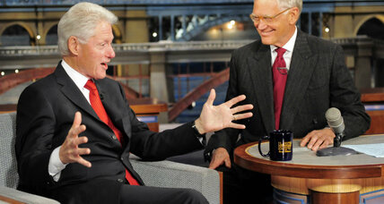 Bill Clinton on David Letterman: Did blinks show Hillary's secret 2016 plans? (+video)