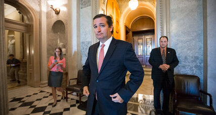 Is Ted Cruz winning the government shutdown battle?