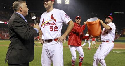 One out from glory: Cardinals' rookie Wacha just misses no-hitter
