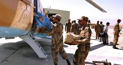 Pakistan earthquake relief efforts face serious security risks
