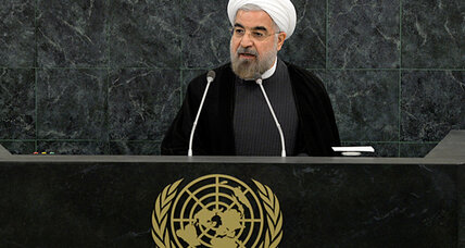 Rouhani insists Iran doesn't want nuclear weapons