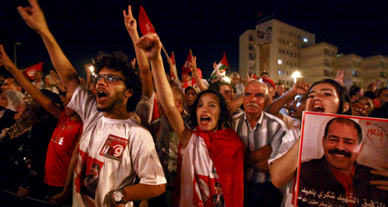 Why does democracy have a shot in Tunisia? Less money.