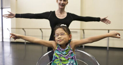 Tampa dancer's wheelchair invention makes dance accessible