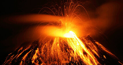 Pardon the eruption: Volcanoes around the world
