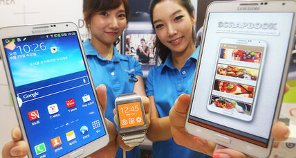 As phablet market grows, Samsung rolls out Galaxy Note 3