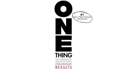 Reader recommendation: The One Thing