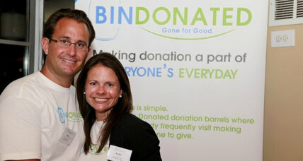 Bin Donated makes unwanted items 'gone for good'
