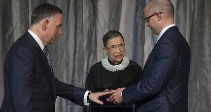 Justice Ginsburg, the Cheney sisters, and same-sex marriage