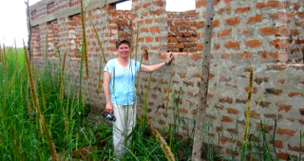 An American mom helps build a school in Uganda
