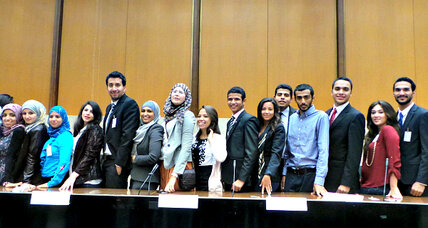 Young leaders from the Middle East gather to tackle the region's big challenges