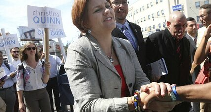 Christine Quinn's loss in New York: Gender politics?