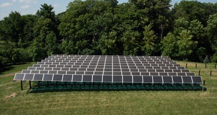 Solar garden: Model T of renewable energy?