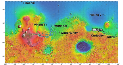 NASA picks four possible Mars landing sites, none of them interesting