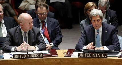 Diplomats move quickly on Syria's chemical weapons. Will action on the ground follow? (+video)