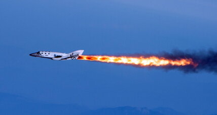 Virgin Galactic releases footage from supersonic flight