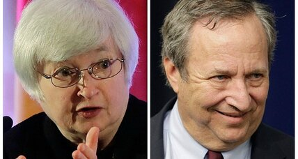Summers withdraws from Fed consideration. Janet Yellen leading candidate