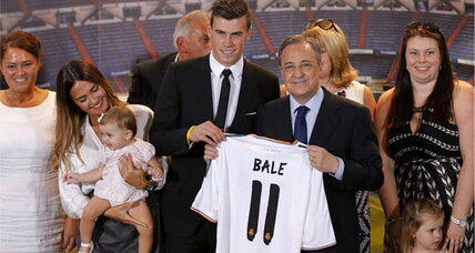 Gareth Bale: Fans flock to world's most expensive soccer star