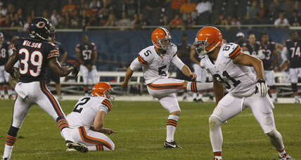 Cleveland Browns fill placekicker position with NFL veteran