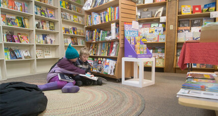 Is having a strong children's section a secret to success for indie bookstores?