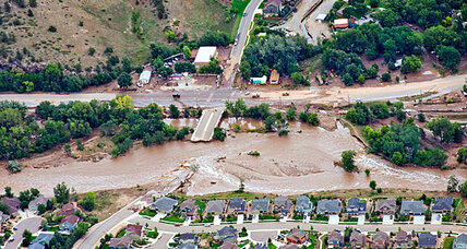 Colorado floodwaters cover area the size of Connecticut
