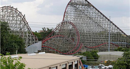 Roller coaster reopening: Six Flags to reopen roller coaster where woman died (+video)