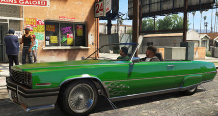 On the streets of Europe, it's all about Grand Theft Auto V