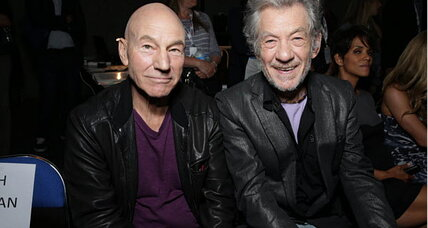 Sunny Ozell and Patrick Stewart get married – by Ian McKellan
