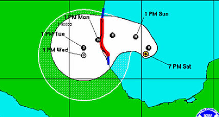 Hurricane Ingrid and tropical storm Manuel target Mexico