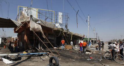 Bombings across Iraq now touch on formerly safe havens