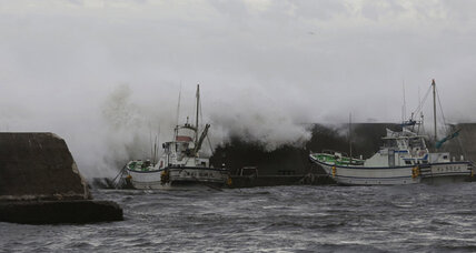 Typhoon Man-yi causes two deaths in Japan, thousands told to evacuate