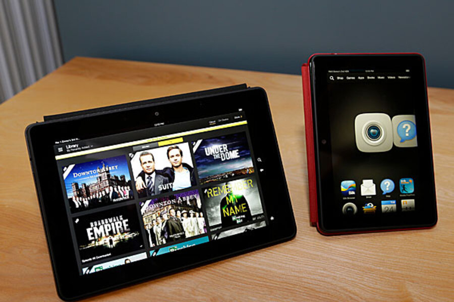 Kindle Fire HDX: A faster, lighter next-gen Android tablet
