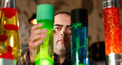 Lava lamps still groovy after five decades