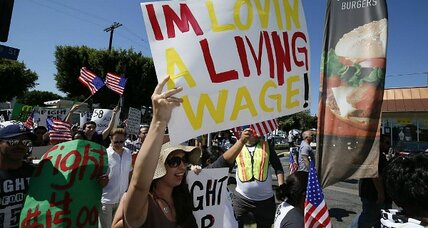 California poised to pass $10 minimum wage. Is now the right time? (+video)