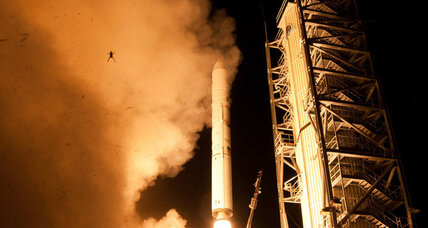 Frog photobomb: NASA launches rocket, frog