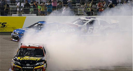 NASCAR controversy: NASCAR levies penalties, Bowyer apologizes for spinout