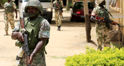 Boko Haram gunmen attack Nigerian security forces, government says