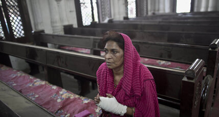 Church bombing threatens Pakistan's push for Taliban talks