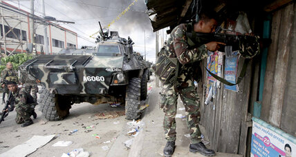 Is the rebel attack in the Philippines a publicity ploy?
